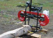 horizontal band saw - saw mill
