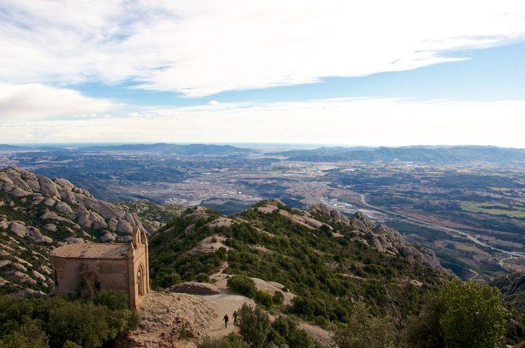 Ermita de Sant Joan, al Massís de Montserrat (Catalunya - Catalonia)