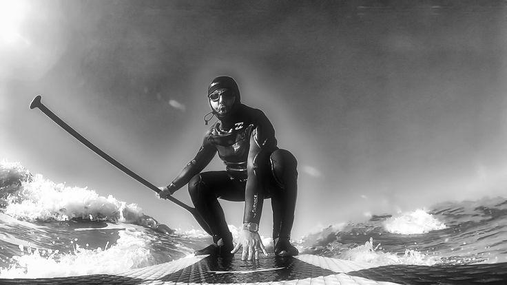 https://flic.kr/p/SFmqgc | monkey surf_BW
