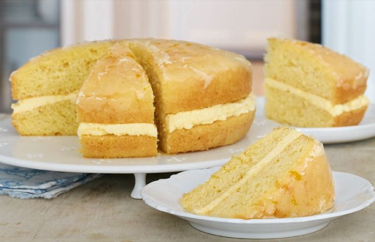 Mary Berry's Orange Drizzle Cake, recipe from Mary Berry's Everyday - with more than 100 brand-new recipes from the BBC's 2017 cookery series.