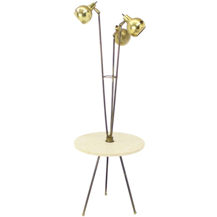Best Laurel Lamp Images On Pinterest Mid Century Floor Lamps - Floor lamps with tables