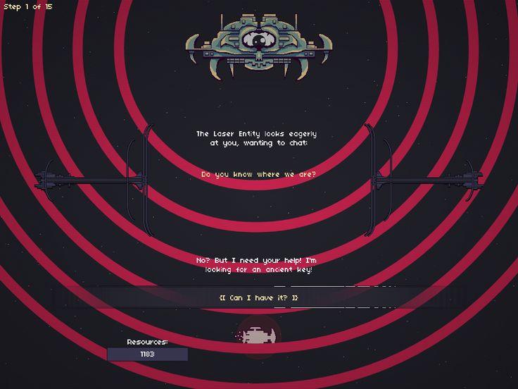 Boss 1 - Laser Entity, from my game RymdResa http://rymdresa.com/