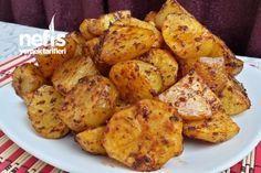 Fırında Salçalı Baharatlı Patates Tarifi nasıl yapılır? 959 kişinin defterindeki bu tarifin resimli anlatımı ve deneyenlerin fotoğrafları burada. Yazar: Elizan