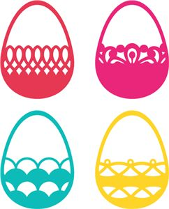 SVG eggs