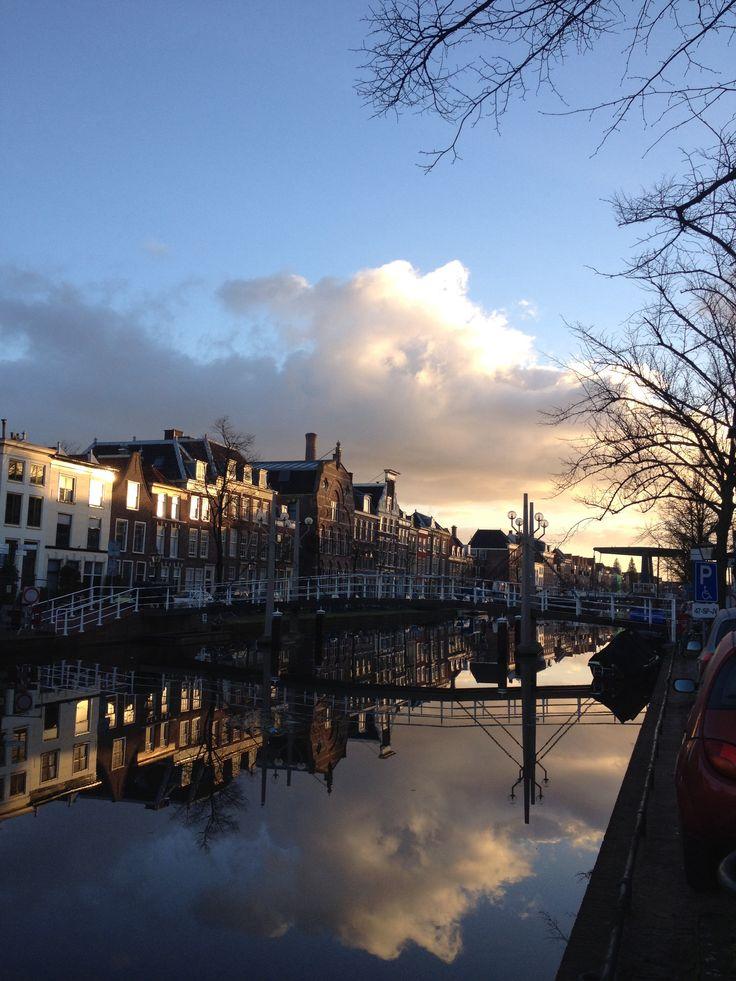 Oude Vest, Leiden, The Netherlands.