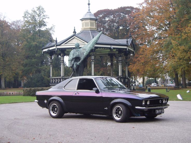 Opel Manta. From the early 1970s?