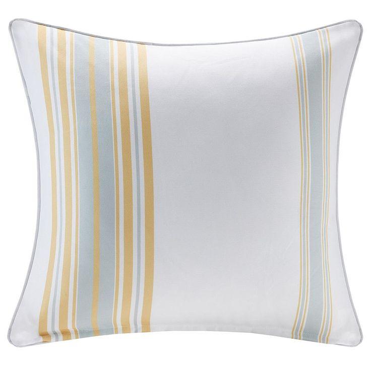 Madison Park 3M Scotchgard Outdoor Medium Throw Pillow, Yellow