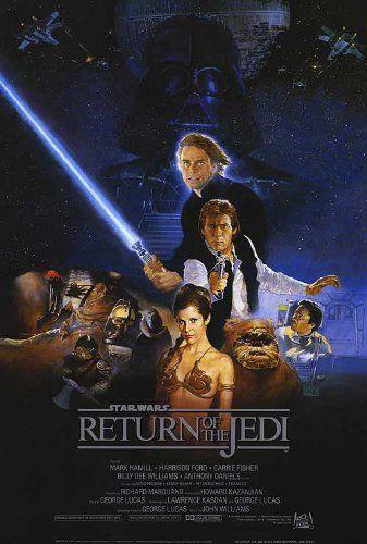 Return of the Jedi Star Wars 24x36 Poster Movie Art Print Generic http://www.amazon.com/dp/B001A35GHS/ref=cm_sw_r_pi_dp_D8Ivub1E4VSAR