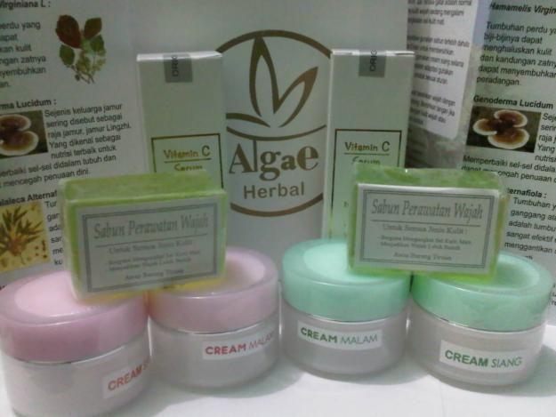 Herbal algae perawatan wajah Dengan terobosan baru yg lebih disempurnakan, dengan kandungan bahan yg lebih sempurna dan tidak perlu memakai serum karena sudah mengandung/ditambahkan serum. Dengan pot baru tp bahan dan kandungan sama, ada bahan yg diganti menjadi lebih sempurna.kunjungi kami di http://lianybeauty.blogspot.com/2010/12/algae-beauty-care-plus.html