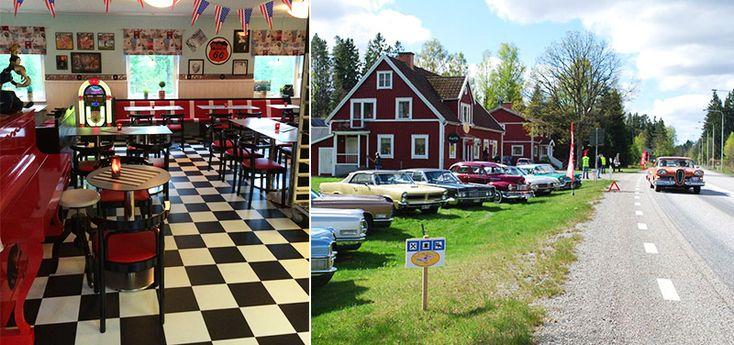 Suzi's Café och B&B – 50-talets Amerika möter djupaste Småland