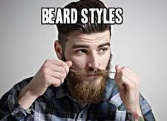 15 Beard Styles from Beardoholic.com