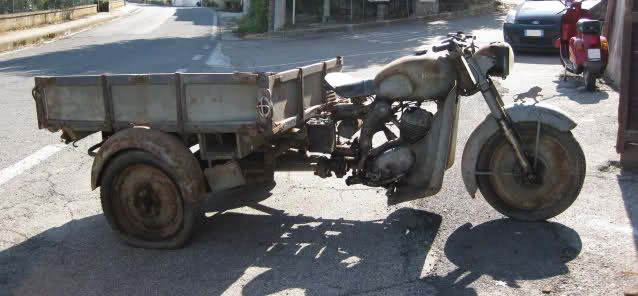 Benelli Leoncino Furgonato [in restauro] - Tricicli e motocarrozzette d'epoca