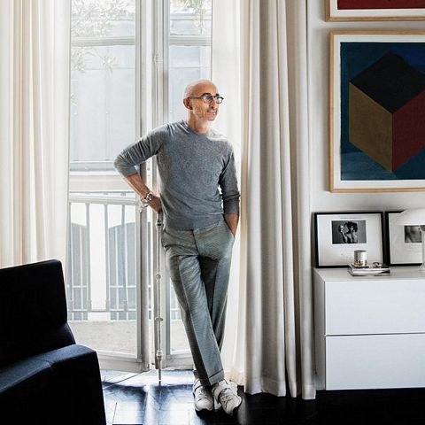 The rich and the famous Designer Pierre Hardy and his apartment in Paris #bathroom #bedroom #living room