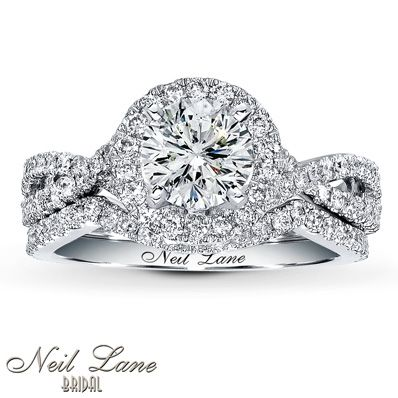 Jared - Neil Lane Bridal Setting 3/4 ct tw Diamonds 14K White Gold