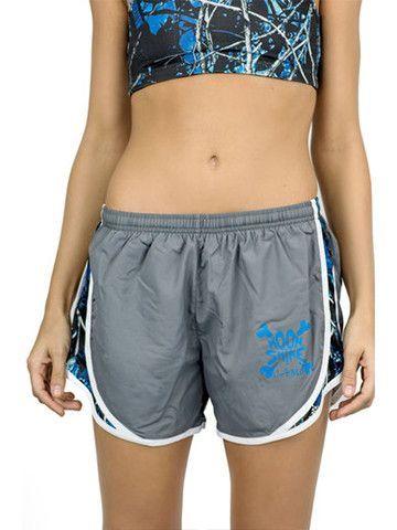 Undertow Camo Gray Athletic Shorts