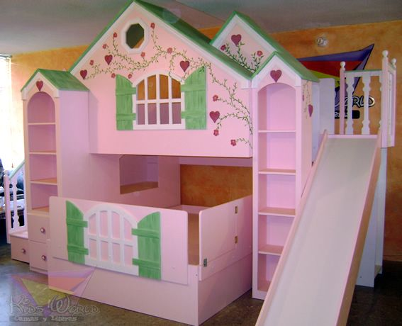 17 best images about para mis princesitas on pinterest for Cuartos para ninas con literas