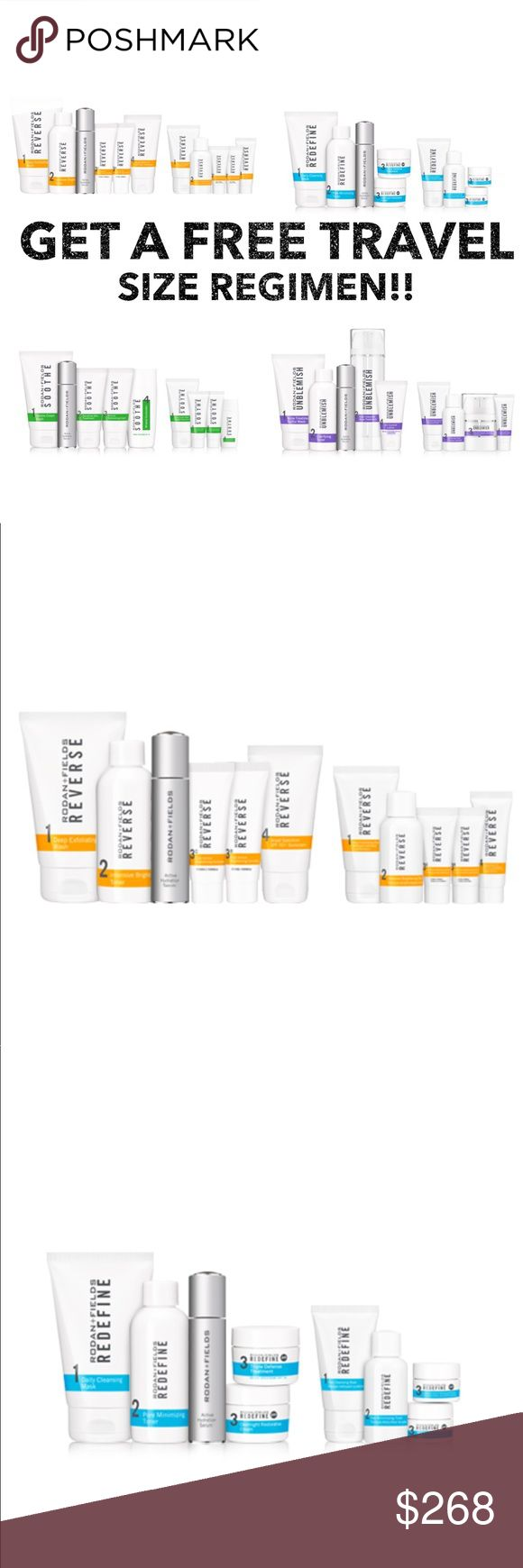 FREE Travel Size Regimen!!! Buy Any SkinCare Regimen + New Active Hydration Serum And Get A FREE Travel Size Regimen!!! For A Limited Time Only! Give Me Your Email And I'll Send You A Special Offer To Order The #1 Premium Anti-Aging SkinCare Brand In The US and Canada!! Rodan+Fields Makeup Face Primer