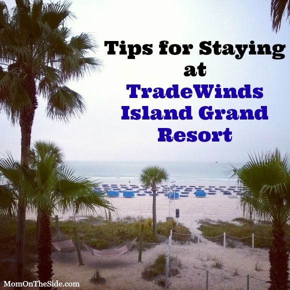 Tradewinds Resort St. Pete's Beach, FL recommended by a friend