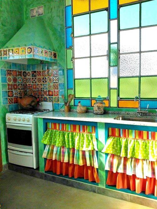 Кухня в мексиканском стиле