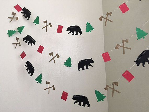 Lumberjack Birthday Party Decorations Lumberjack by ClassicBanners