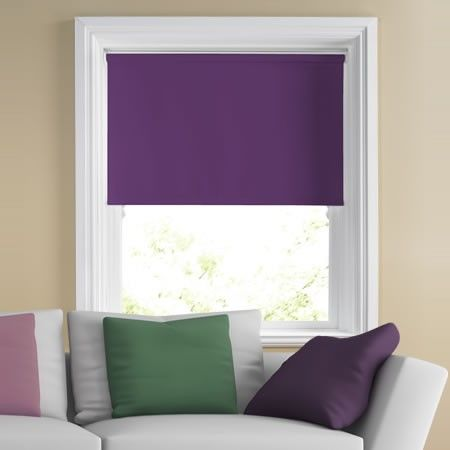 Image for Origin (Blackout), Dark Purple - Roller Blind