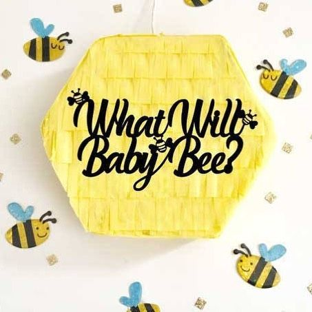 What Will Baby Bee Gender Reveal Pi Ata Custom Made For You