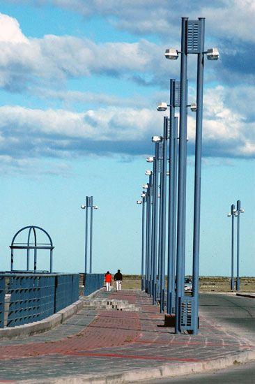 Costanera de Río Gallegos: un hermoso lugar para pasear y disfrutar del aire puro - Santa Cruz, AR