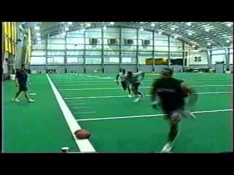 footwork drills for defensive backs - YouTube