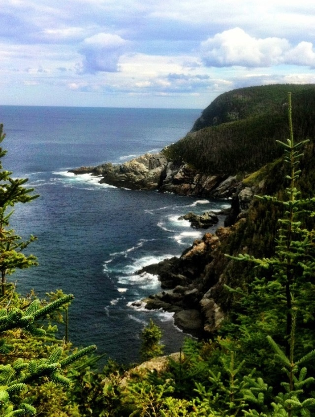 East Coast Trail, Newfoundland - I always wanted to backpack Newfoundland for a month or two - perfect trail for it!