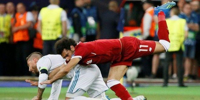 الخبر غير متاح Mohamed Salah Sergio Ramos Sports