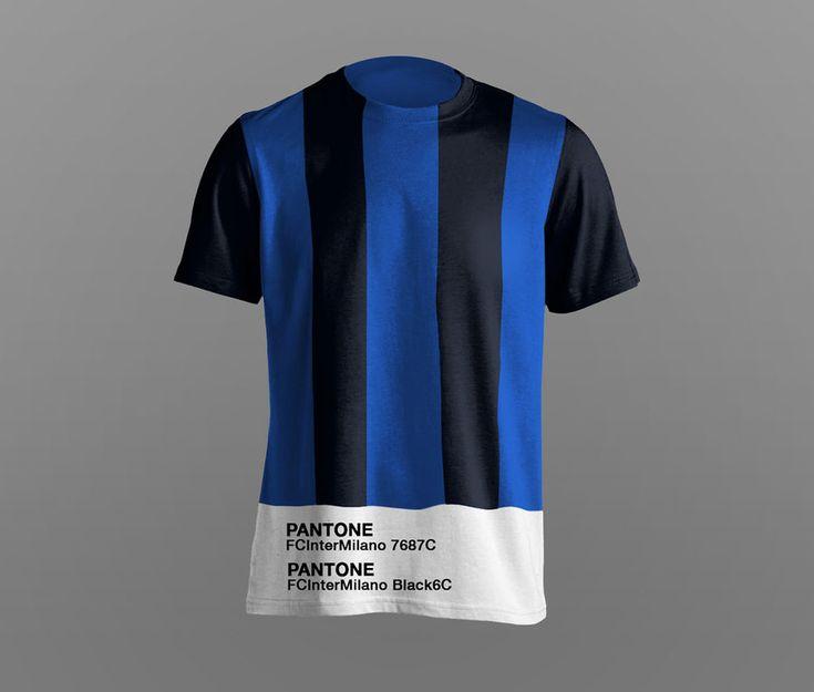 Playeras de fútbol en PANTONE