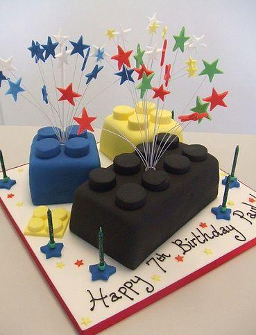 Quick  Easy Lego Cake Recipes On Pinterest Lego Birthday Lego - Lego birthday cake decorations