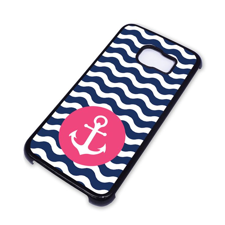 NAUTICAL ANCHOR Pattern Samsung Galaxy S6 Edge Case – favocase