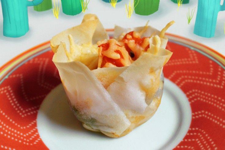 Culy homemade: Mexicaanse taco cupcakes - Culy.nl