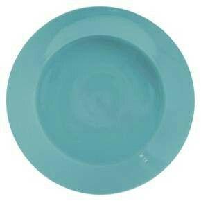 Teal plates at target