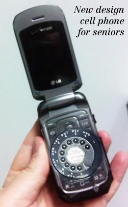 Growing Old Gracefully | New Design Smartphone for Seniors #SmartphoneHumor #SeniorCitizens