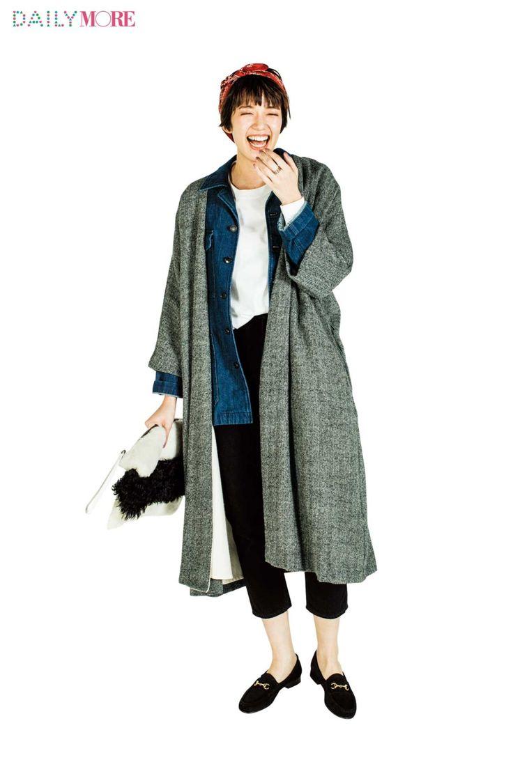 【今日のコーデ/佐藤栞里】カジュアル気分の日曜日はコート×ジャケットで鮮度を上げる! | ファッション(コーディネート・流行) | DAILY MORE