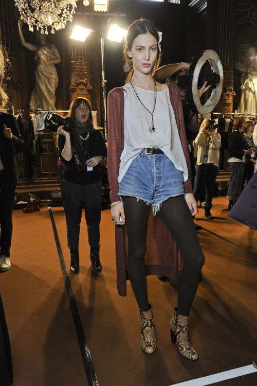 modelsoffthecatwalk: Ruby Aldridge