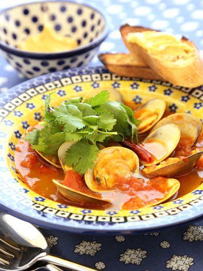 【ELLE a table】はまぐりのスープ ブイヤベース風レシピ エル・オンライン