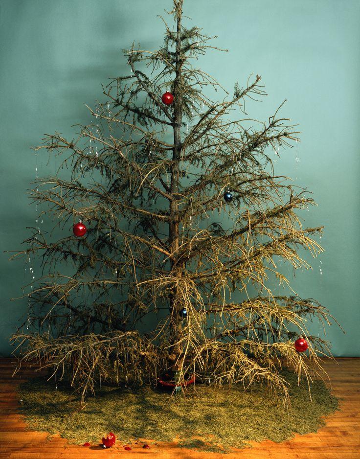 Christmas Is Dead Christmas Tree And Santa Christmas Tree Christmas Tree Decorations