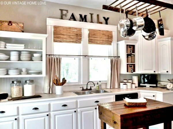 Exceptionally Eclectic Farmhouse Kitchen Kitchens I Love Home Decor