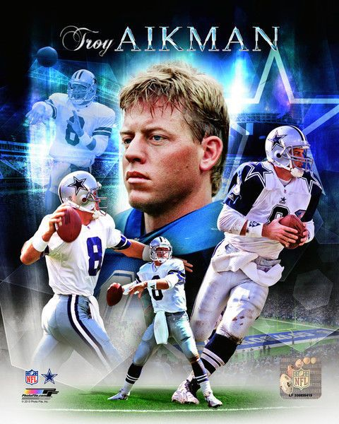 Troy Aikman #Dallas Cowboys Licensed Picture Poster Print Un-signed 8x10 Photo from $6.99