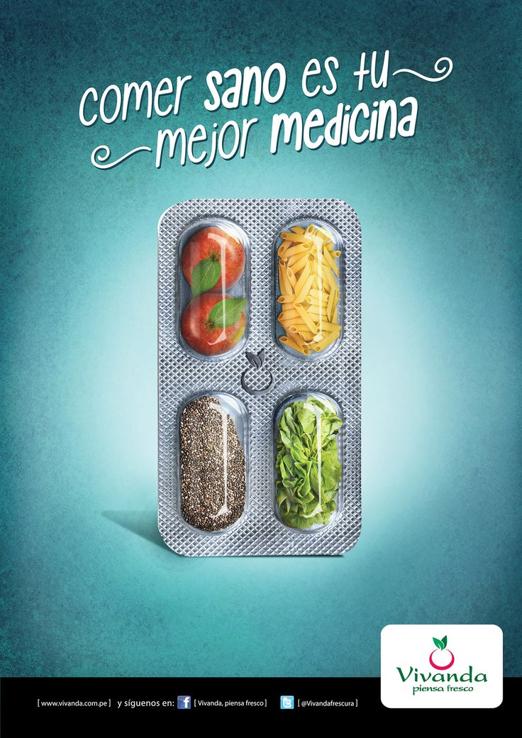 COMER SANO ES TU MEJOR MEDICINA on Behance