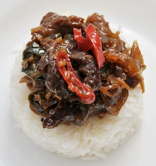 Fuss Free Cooking | Beef with Lemongrass and Chiles Stir Fry | http ...