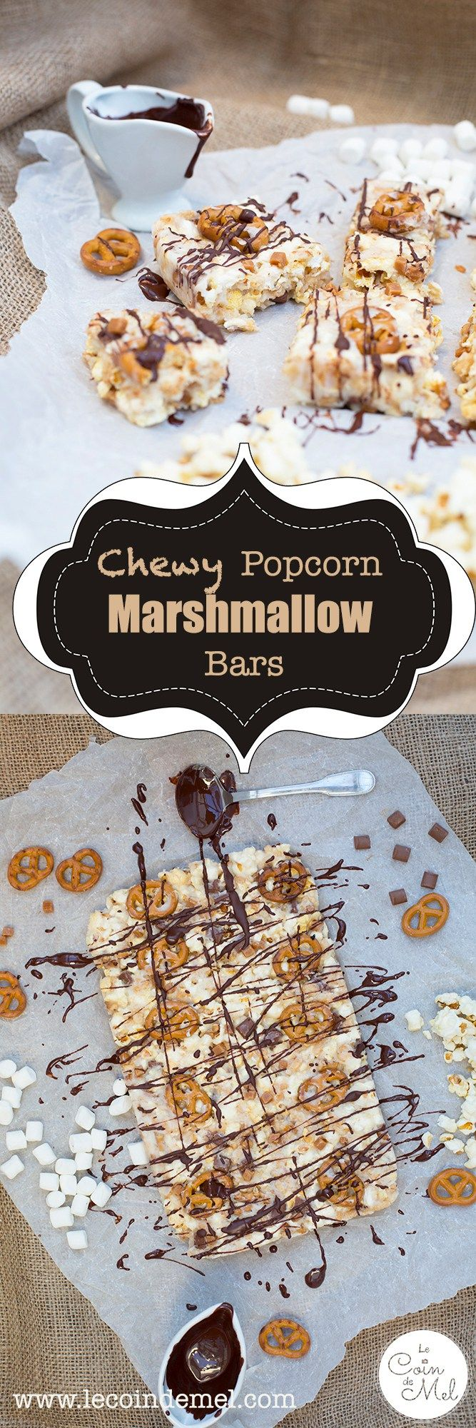 These popcorn marshmallow bars take minutes to make, require no baking and are as moreish as you can imagine! They also have a hint of saltiness with the pretzels & sweet & salty popcorn.  They are wheat-free, gluten-free, egg-free and nut-free (check all ingredients). #ad
