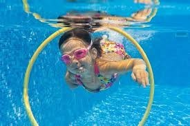 Kids love swimming