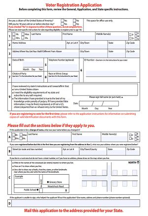 Best 25+ Voter registration form ideas on Pinterest Voter - vendor registration form