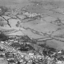The town, Great Dunmow, 1949 | Britain from Above