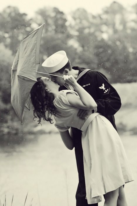 Sailor's kiss