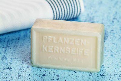 Kernseife ohne Parfüm zum Händewaschen & für den Haushalt, 5x100g